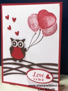 Owl builder punch and Balloon Builders Stamp Set