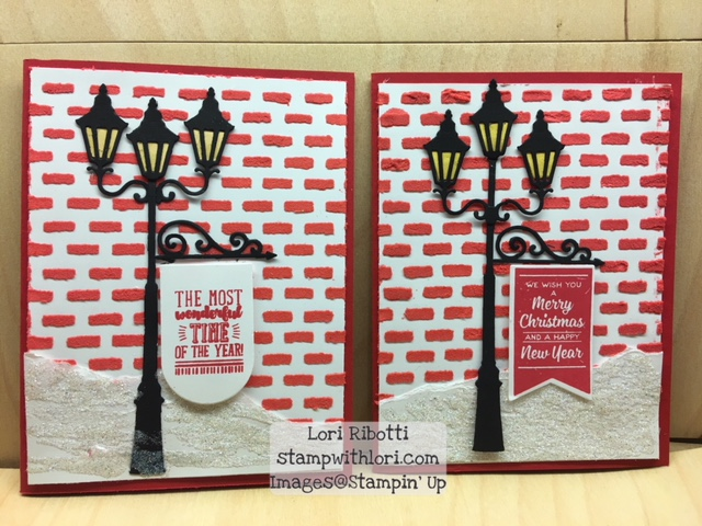 Stampin Up Brightly Lit Christmas