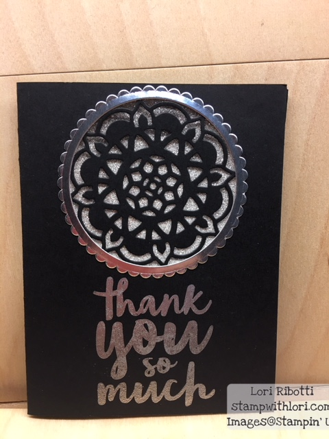Stampin Up Eastern Medallions