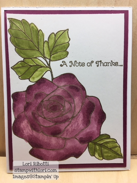 Stampin Up Stampin Blends