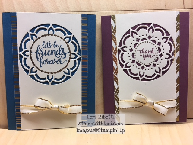 Stampin Up Eastern Beauty