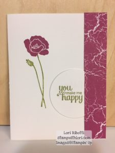 Stampin Up Flirty Flowers