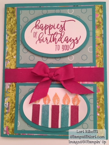 Stampin Up Picture Perfecct Birthday
